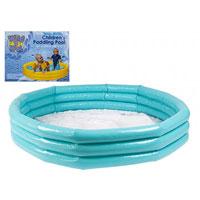 Blue 3 Ring Paddling Pool