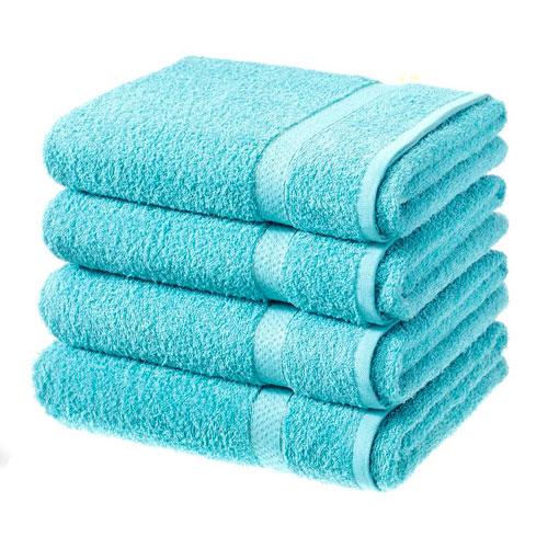 Luxury Cotton Bath Sheet Turquoise