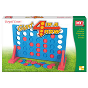 Giant 4 In A Row Game In Colour Box