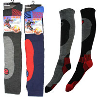 Mens High Performance Padded Ski Socks