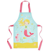 Kids Mermaid PVC Apron