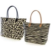 Ladies Animal Print Summer Bag
