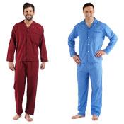 Mens Cotton Pyjama Set