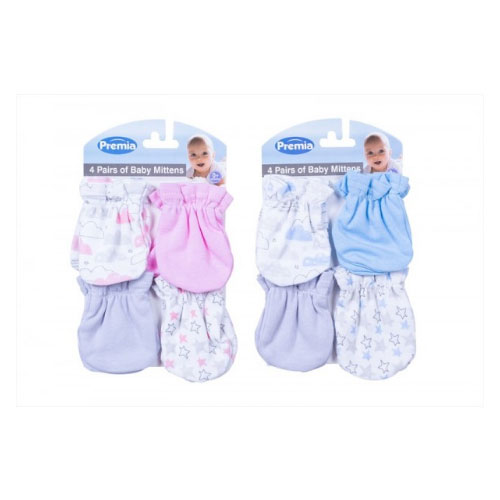 Premia Baby Mittens Assorted