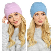 Ladies Knitted Hat Assorted