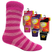 Ladies Extreme Thermal Socks Bright 2.45 TOG