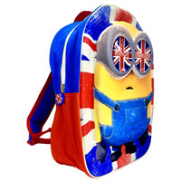 Official EVA Shaped Minions Invasion 3D Backpack
