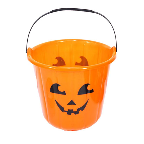 Halloween Orange Bucket Pumpkin