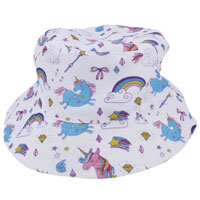 Girls Bucket Hat Unicorn