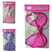 Fairy Wings & Sparkle Wand Toy Set