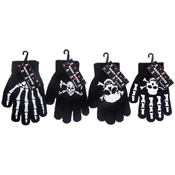 Childrens Magic Gloves Bones