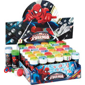 Spiderman Novelty Soap Bubbles