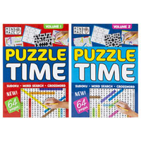 A4 Bumper Mixed Puzzle Book