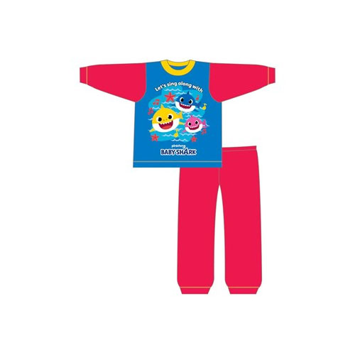Official Boys Baby Shark Sub Pyjama Set