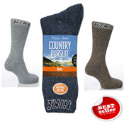 Mens Hike Socks Country Pursuit