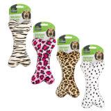 Animal Print Squeaky Dog Toy