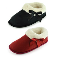 Ladies Demi Bootee Slippers