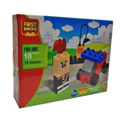 First Bricks Fire Unit Set