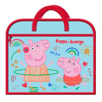 Official Peppa Pig Zipped Book Bag