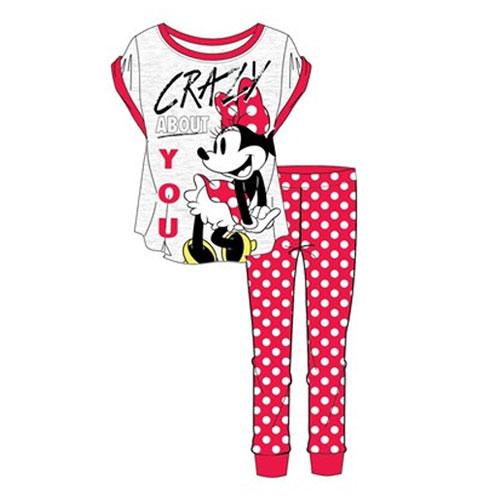 Official Ladies Minnie Mouse Pyjama Set