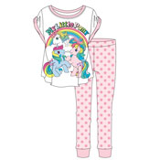 Ladies My Little Pony Rainbow Pyjama Set