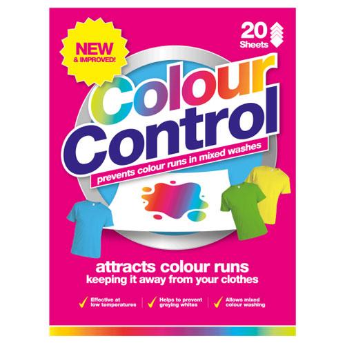 Colour Control Laundry Sheets