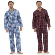 Mens Traditional Checked Pyjamas
