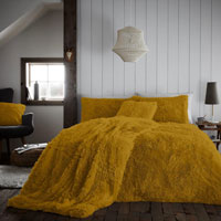 Hug And Snug Duvet Set Ochre