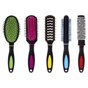 25 Assorted Hairbrushes