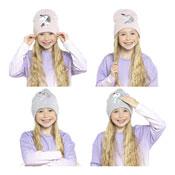 Kids Unicorn Reversible Sequins Hat