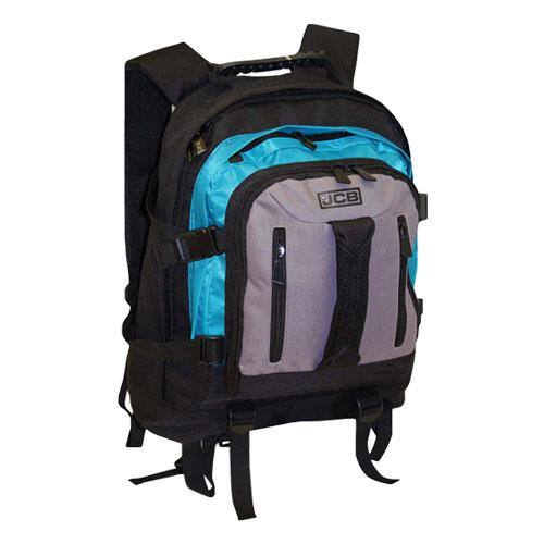 JCB Heavy Duty Full Strap Backpack Aqua