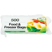 Food & Freezer Bags 500 Pack