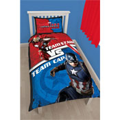 Captain America Vs Iron Man Civil War Reversible Duvet Set