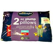 Silentnight So Plump Pillows 2 Pack
