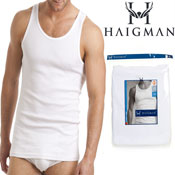 Haigman 3 pack Luxury Combed Cotton Vest