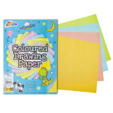 A4 Drawing Pad Coloured Paper