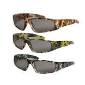Boys Camo Print Frame Sunglasses