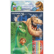 The Good Dinosaur Colouring Pad and Pencils