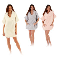 Ladies Sherpa Snuggle Top Poncho