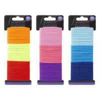 Glamour Assorted Coloured Hair Bands