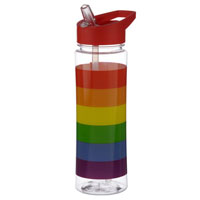 Large Rainbow Water Bottle 550ml