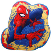 Spiderman Shaped Cushion Vacuum Packed