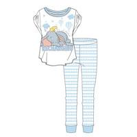 Ladies Official Dumbo Recharging Pyjamas