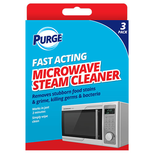 Fast Acting Microwave Steam Cleaner