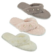 Ladies Toe Post Slippers