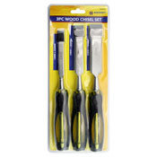 3 Piece Wood Chisel Set