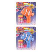 Clown Fish Bubble Gun With Tub