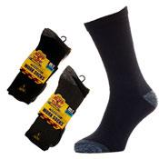 Mens Big Foot Ruff & Tuff Workwear Work Socks