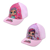 Official Childrens LOL Surprise Sequin Baseball Cap