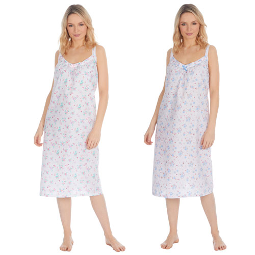 Ladies Woven Strappy Nightdress